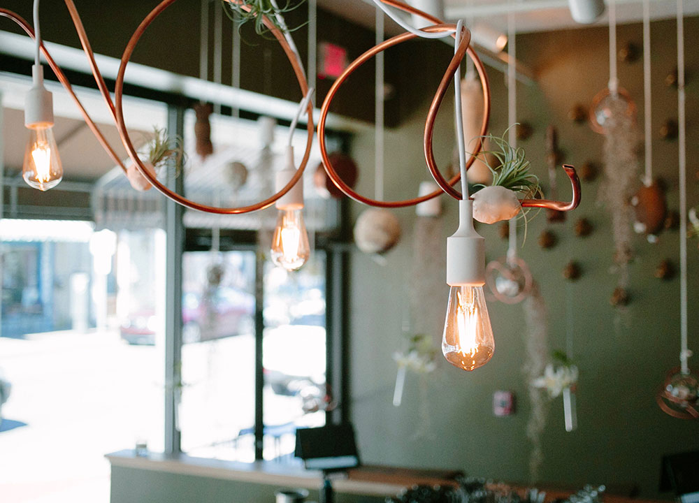 DTB Nola Light Fixtures, Restaurant Design, Commercial - Valerie Legras Atelier