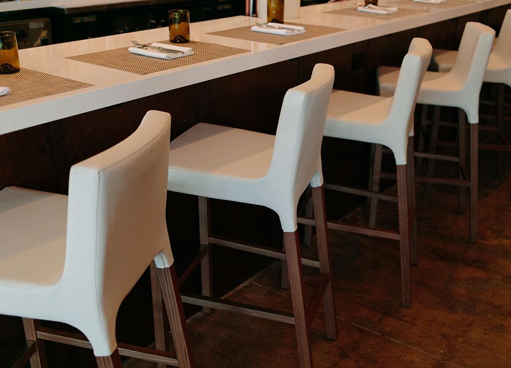 DTB Nola Counter Seating, Restaurant Design, Commercial - Valerie Legras Atelier