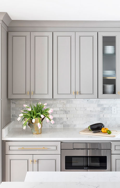 Crisp Light and Airy, Kitchen Design - Valerie Legras Atelier