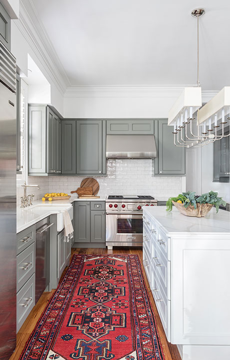 contemporary kitchen Design New Orleans - Valerie Legras