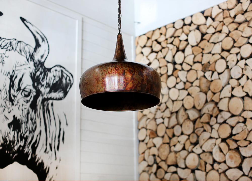 Pyre Provisions, Restaurant Design, Lighting & Local Art