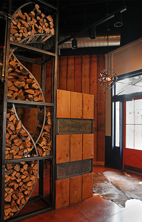 Pyre Provisions, Restaurant Design, Entry