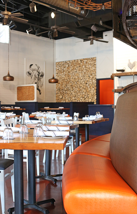 Pyre Provisions, Restaurant Design, Dining
