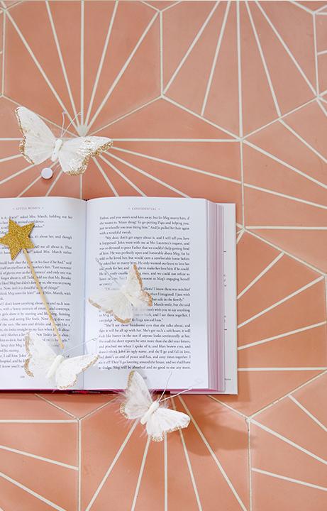 Pink Bathroom Tile, Home Design for Kids - Valerie Legras Atelier
